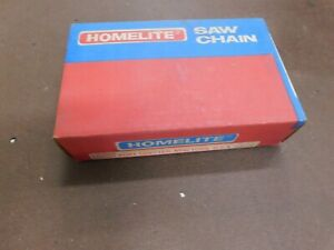 25' VINTAGE HOMELITE CHAINSAW CHAIN NEW 1/4 FOR STIHL ECHO MCCULLOCH