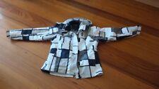 Ski Jacket - Dual Layer - Polarfleece Inner - Removable Hood - Size 14