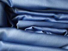 Ralph Lauren QUEEN 4pc Sheet Set FRENCH BLUE Dunham Sateen Free Shipping