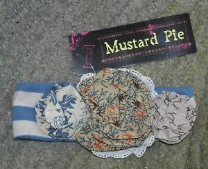 Mustard Pie Headband (Amber Fields Flora Band) - Size S - NWT