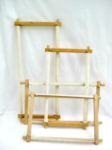 Tapestry embroidery frame 15, 18 or 24 inches  wide  Length can be rolled up