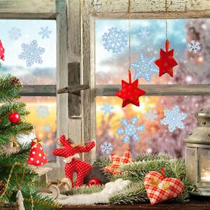 78 Xmas Christmas Window Decorations Stickers Snowflake
