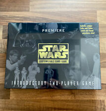More details for star wars ccg premiere introductory 2 player game, unused sealed boxed complete!