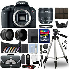 Canon T7i / 800D DSLR Camera + 18-55mm IS STM 3 Lens Kit + 32GB Best Value Kit