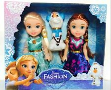 Mini Dolls FROZEN PETITE ELSA, ANNA AND OLAF  NEW.