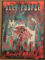 Deep Purple - Moments Of Abandon Tour 1999 programme