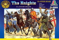 Italeri 1/72 6009 Crusaders, The Knights (XIth Century)