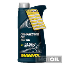 1 Liter MANNOL Compressor Oil ISO 46 Kompressoröl