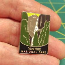 New Traveler Series Pin Yosemite National Park California Tie Tac Lapel Pin