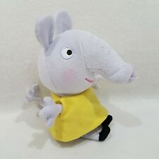Peppa Pig Emily Elephant Figure NEW From Peppa Pig Soft toy plush Ty n