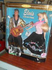 Elvis and Barbie Dolls 1994 Singing MIB