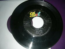 """Pop 45 Tab Hunter """"Young Love/ Red Sails In The Sunset"""" Dot VG+"""