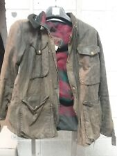 tt leathers vintage wax motorcycle jacket size large belstaff type jacket