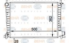 HELLA Radiador, refrigeración del motor FORD FIESTA MAZDA 121 8MK 376 714-244