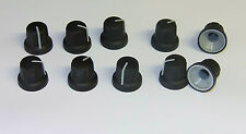 SIFAM CONTROL KNOBS Sifam 12mm Soft Touch 18 Spline  with Grey Pointer X 10