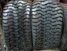 TWO 18/9.50-8 John Deere Lawnmower, Golf Cart Turf Tread 4 ply Tubeless Tires