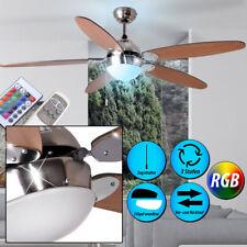 RGB LED Ventilateur de plafond CHAUFFEUR Lampe changement de couleur