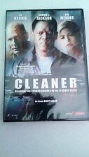 "DVD ""CLEANER"" RENNY HARLIN ED HARRIS EVA MENDES SAMUEL L. JACKSON"