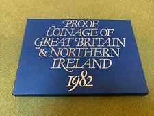 More details for uk british 1982 proof 7 coin set: 1/2 - 50 pence ~ royal mint ~ cased ~ #2