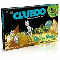 Rick and Morty Cluedo
