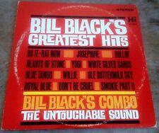 BILL BLACK'S COMBO bill black's greatest hits 1963 US HI STEREO VINYL LP