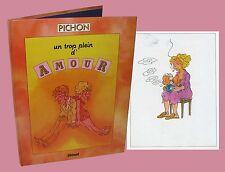 Michel Pichon Un trop plein d'amour Umorismo Erotismo Glenat humour érotisme