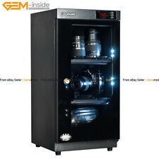 48L Lcd Moistureproof Dry Box Cabinet for Dslr Camera Camcoder Microscope Lens