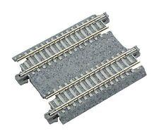 "Kato N Scale Concrete Tie Double Straight Track 62mm 2-7/16"" (2 pc) NEW 20-042"