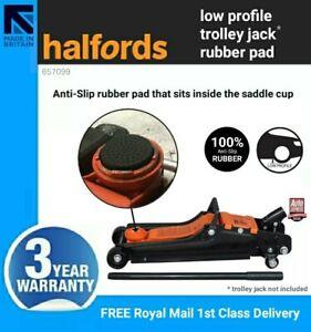 Halfords Low Profile 2 Ton Trolley Jack Anti-Slip Rubber Pad