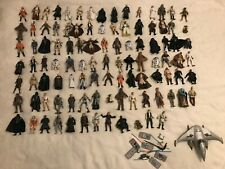 Large Job Lot Bundle of Star Wars Figures Luke Skywalker Vader Fett Kenobi Maul