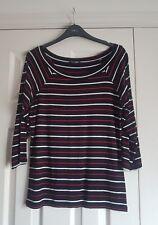 M&co petite striped top