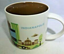 Starbucks 2016 Indianapolis You Are Here Collection Coffee Mug 14 fl oz No Box