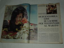ANNA MOFFO-IL FESTIVAL  DI SANREMO 4 PAGINE CON FOTO IMPERDIB-GIULIANA LOJODICE-