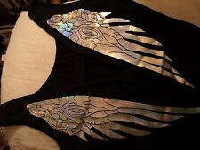 Cyberdog Black Angel Wings Top M