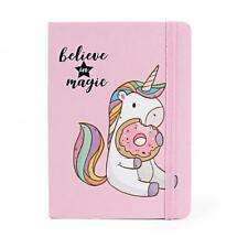 Hardcover Notebook Unicorn Book 96 Sheets Diary School College Note Book