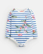 Joules Baby Girls Snazzy   Jersey Printed Bodysuit -  Size 9m-12m