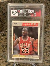 1987 Fleer #59 Michael Jordan 2nd Year HGA 9 Chicago Bulls 🔥Rare