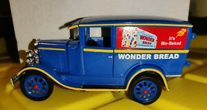 1930 Ford Van Wonder Bread Delivery Truck Diecast 1:32 Signature Series New