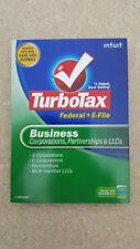 TurboTax 2008 Business - Corporations, Partnerships & LLCs