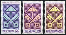 VATICAN CITY - 1978 - Pope Paulus VI Death - MNH Set of Three - Sc.#635-#637