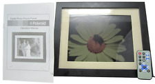 "Polaroid IDF-1020 10.4"" Digital Picture Frame, Cords, Remote and Box Included"