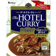 HOUSE JAPAN RETORT FOOD THE HOTEL CURRY SPICY MEDIUM HOT (180g x 10) BEEF