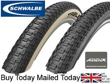 SCHWALBE Table Top Addix 26 X 2.25 Black / Amber Tan Wall Folding Dirt Bike Tyre