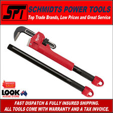 MILWAUKEE 48-22-7314 CHEATER PIPE WRENCH ADJUSTABLE 3 SIZE LENGTHS MONKEY WRENCH
