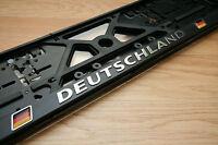 2 Stück Kennzeichenhalter Nummernschildhalter  3D *DEUTSCHLAND*EU Standardgröße