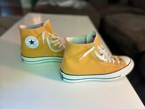 Converse Chuck 70 High Top Sunflower Yellow New Size 8 No Box