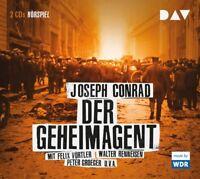 F.VÖRTLER/W.RENNEISEN/P.GROEGER - JOSEPH CONRAD: DER GEHEIMAGENT  2 CD NEU
