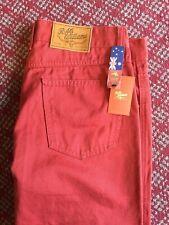 R M Williams linier Rojo Jeans 34L, RRP £ 99.95 BNWT