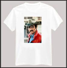 Burt Reynolds Smokey & the Bandit Tee Shirt New Small-XL White