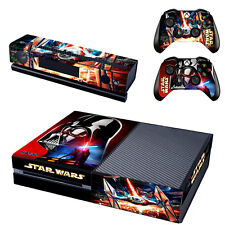 Star Wars Cover Skin Decals For Xbox ONE Console + 2 Controllers Sticker